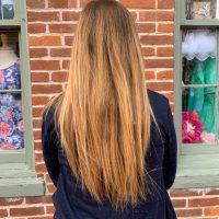 """9"""" Natural Red/Auburn Hair"""