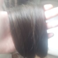 23.5 inch ( 60 cm ) Vigin Brown Male hair
