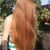 beautiful-thick-virgin-red-hair--selling all except an inch the total will be 27 inches