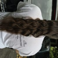 22-25 inch Virgin Brown Wavy Hair