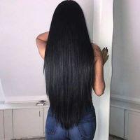 Natural black virgin hair
