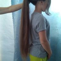 Kids hair never cut
