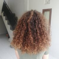 12 Inches, Thick Curly Virgin Brown Hair for Sale