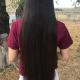 "24"" Thick Straight Dark Brown/Black Virgin Hair"