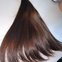 "VIRGIN Latin Brown Thick Hair 11"" (FREE SHIPPING)"