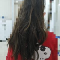 untreated Turkish hair