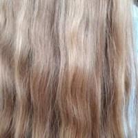 Long blond virgin hair (golden blond / dyrtyblond)