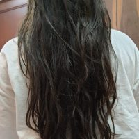 Soft lustrous healthy hair