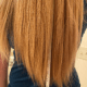 """24"""" of Long Thick Blonde Hair"""