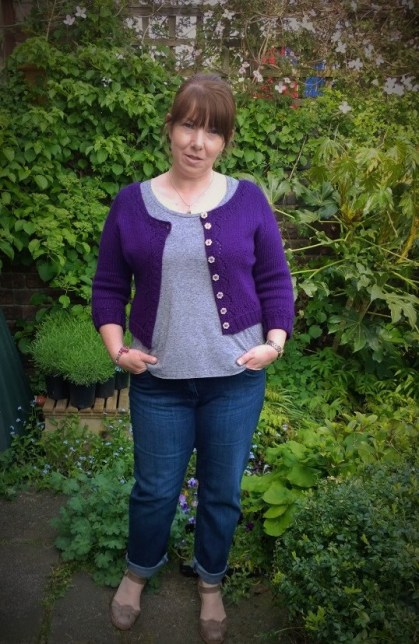 Day Five: Grey Deer And Doe Plantain And Purple Miette Cardigan