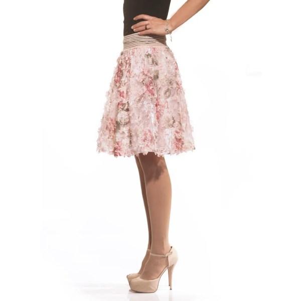 Hyf, fiori, gonna, skirt, flower