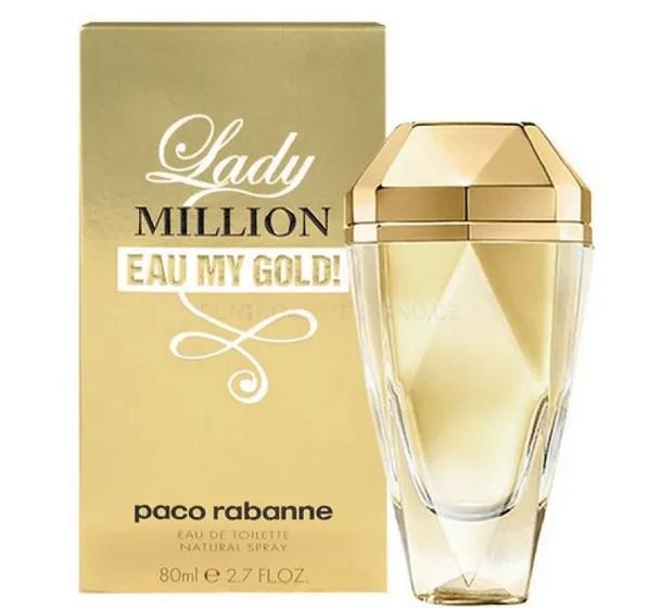 Profumo da Donna Paco Rabanne Lady Million Eau My Gold Eau de Toilette confezione da 80ML