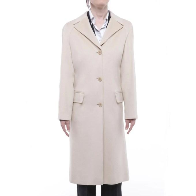 GENNY - wool angora coat
