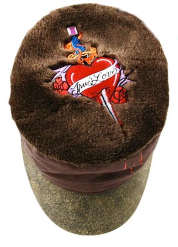 Keyone cappello donna militare con visiera urban love