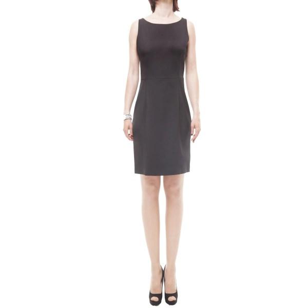 Verysimple abito nero corto donna