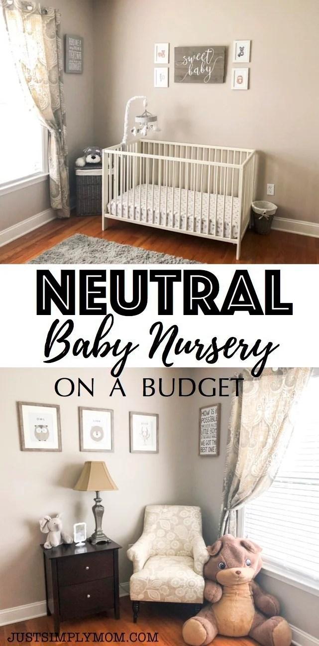 Neutral Nursery on a Budget