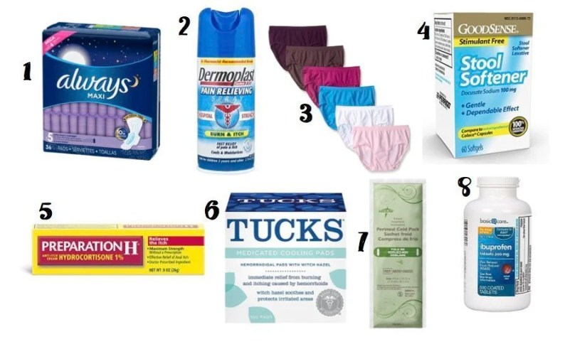 Be prepared for childbirth recovery with these essentials to help soothe and heal your body from delivery. Have these items before the baby comes.