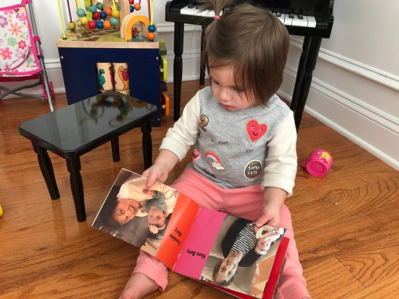 A thoughtful gift or educational tool to help your baby or toddler learn their family members or close loved ones. Create a book that they will always remember and love looking at photos of people they don't see all the time. If you're looking for a gift that is not a toy and something they will use, this is it!