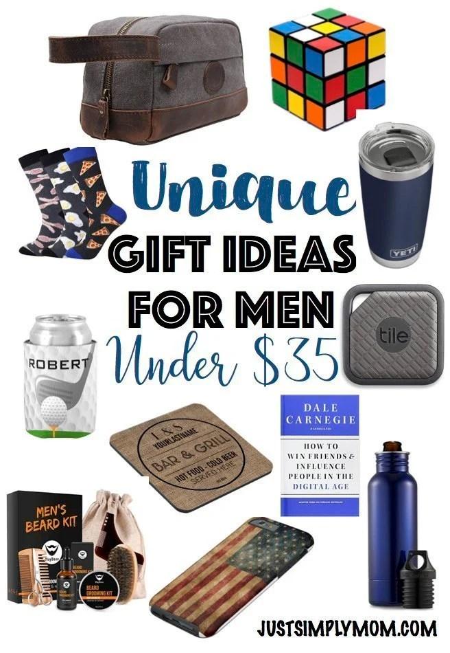 Unique Gift Ideas For Men – Under $35
