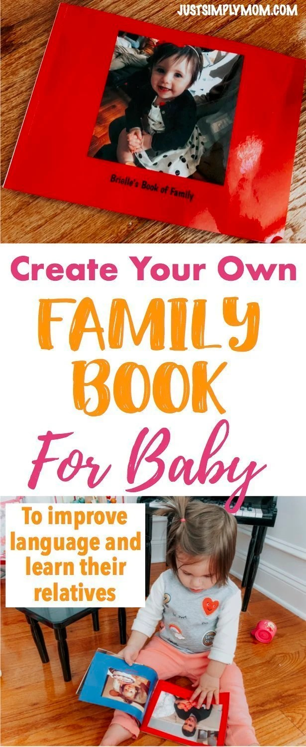 Create Your Own Family Book for Baby