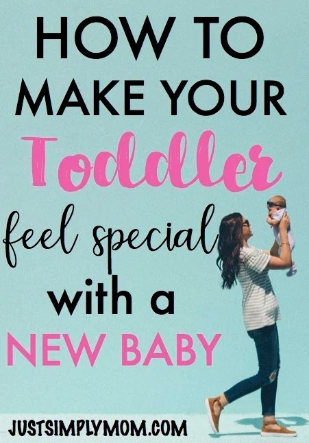 How to Give Toddler Attention With A New Baby