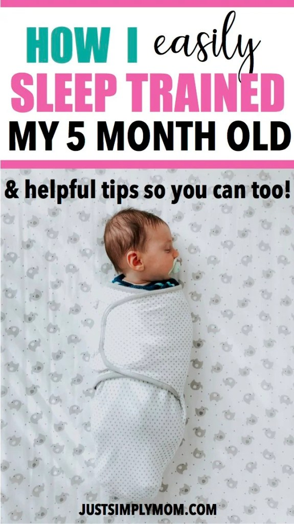 Giving your baby the best sleep habits will lead to years of better rest and a better life for both you, your child, and your whole family. Follow these simple tips to start sleep training your 5 month old and get them sleeping better by following a daily routine for naps and bedtime.