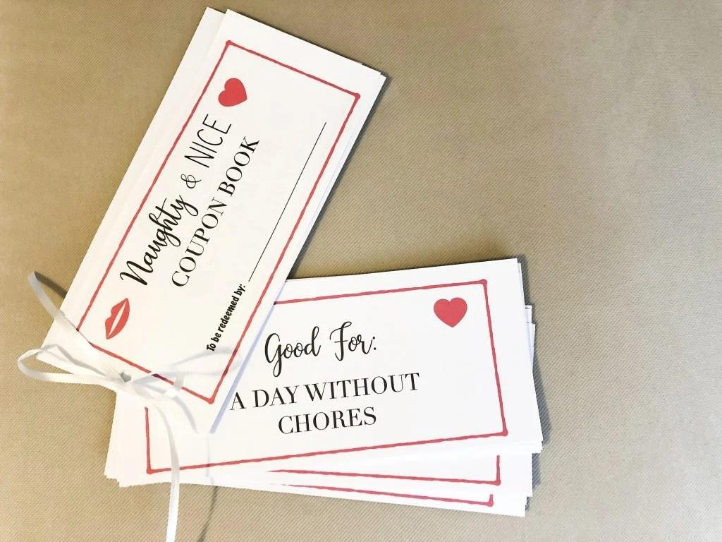 spouse coupon book