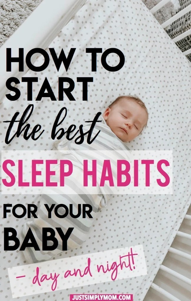 Giving your baby the best sleep habits will lead to years of better rest and a better life for both you, your child, and your whole family. Follow these simple tips to get them sleeping better by following a daily routine for naps and bedtime.