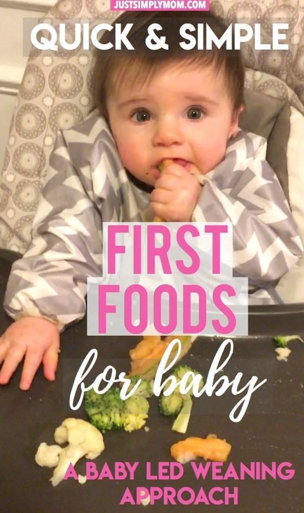 Quick Simple First Foods For Your Baby Just Simply Mom See more ideas about cantaloupe, cantaloupe benefits, cantaloupe and melon. simple first foods for your baby