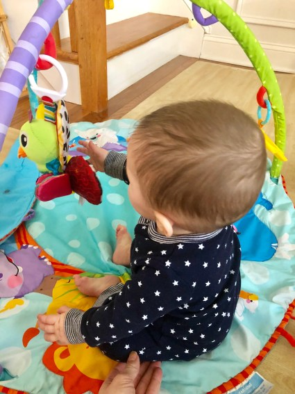 An important milestone your infant will soon reach is sitting. Here are my tips, activities, and positions to help baby sit up on their own.