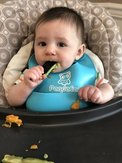 If your baby is refusing to try new textures at mealtimes, give these srategies a try to get them practicing with new foods, tastes, and temperatures. Eating is a sensory and play experience for an infant, as well as eating. Keep in mind your baby needs to explore and get used to chunky textures before they can really understand what they're putting in their mouth.
