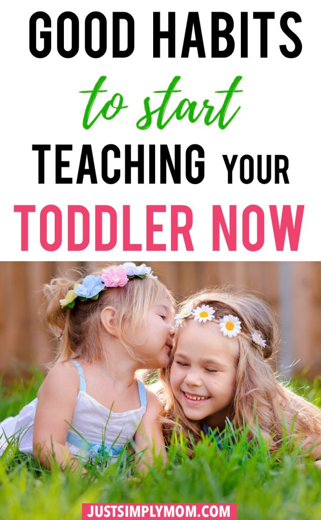 It's important to teach your child good habits, including manners, sharing, and caring for others. The earlier you start with your baby or toddler, the faster it will become natural to them. Instilling some of these positive actions will have a lasting impact on what kind of person they will become.