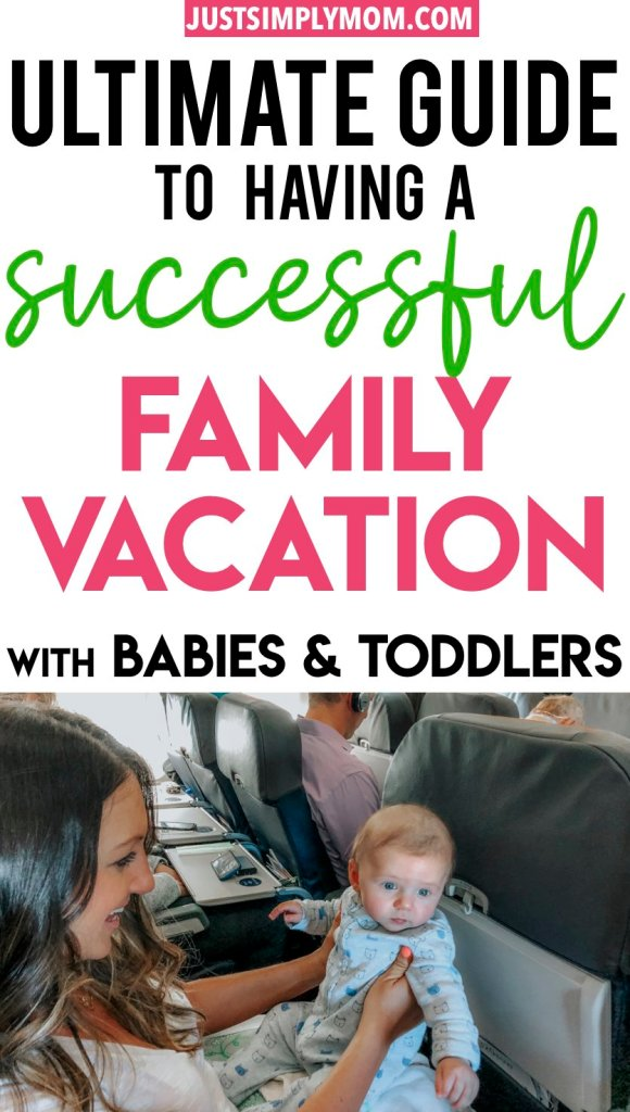 Family vacations can get harder once you have kids. Take these tips on traveling with babies and toddlers so you can be prepared and have the best time.