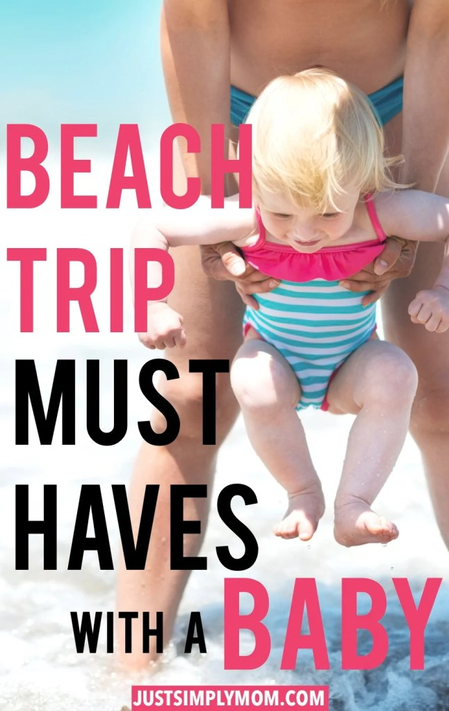 Planning a beach vacation or just a day trip with your baby or toddler? With the sand, sun, and ocean a huge factor with children, make it more manageable and enjoyable with these tips and enjoy your trip.
