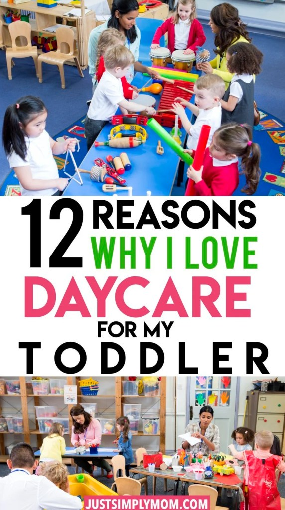 Daycare is a great experience for your toddler. There are many benefits of daycare from socialization to learning and language. They will begin preparing for the school environment by learning how to participate in a daily routine, be around other adults, and listen and pay attention to directions.