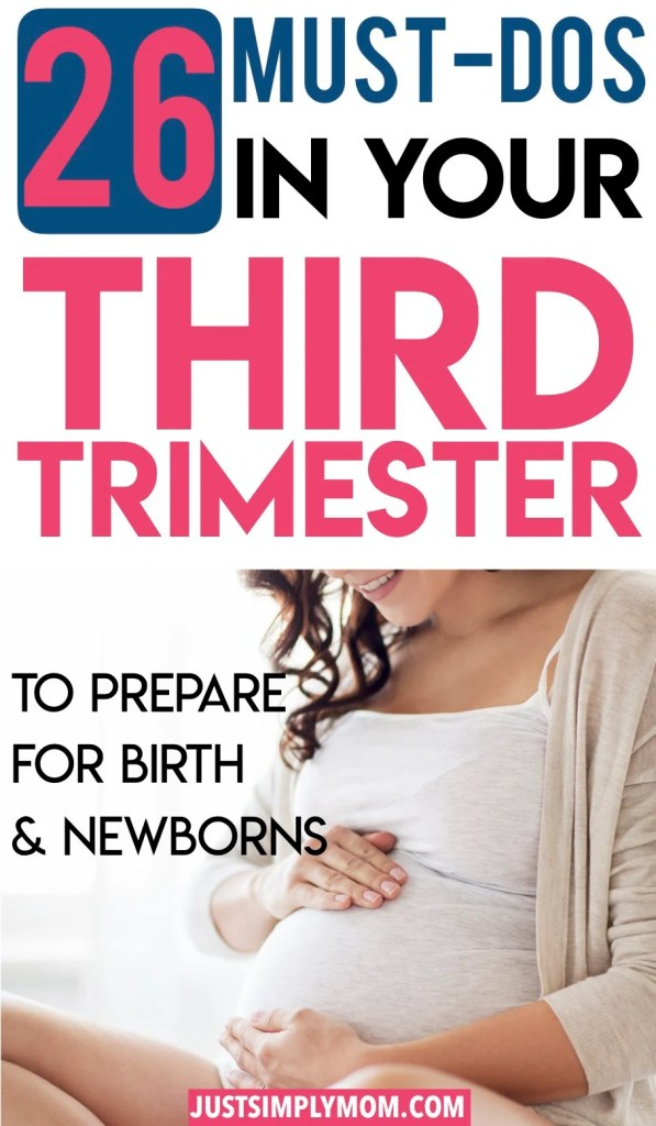 In your third trimester of pregnancy, you will need to start preparing your body and mind for childbirth and your newborn. These tips will give you ideas on where to begin.