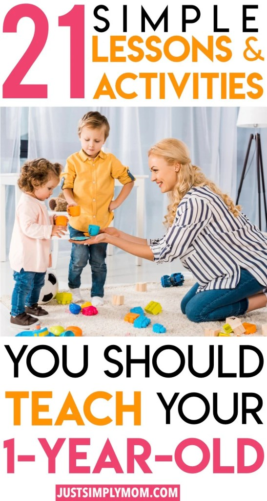 Simple, developmental activities and lessons you should teach your toddler everyday to help them learn, even when you're busy. They require no set up or creativity. This will help them to improve skills and they are constantly learning everyday.