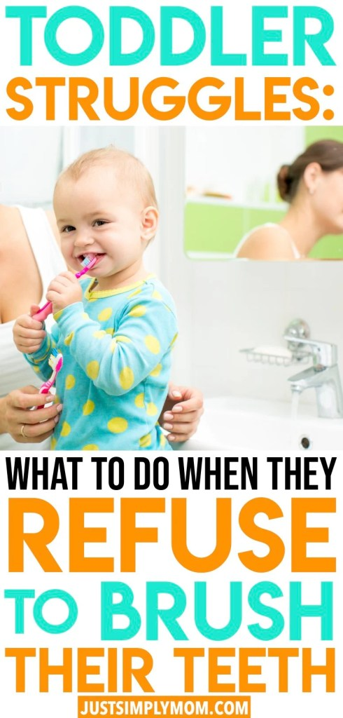 Trying to get your toddler to brush their teeth can be a tough struggle. Try these helpful tips to make it fun and help your child feel more independent and in control.