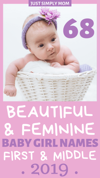 Here you will find an extensive list of beautiful, modern, and feminine first and middle names for your baby girl plus tips on how to make the difficult decision of choosing a name for your child.