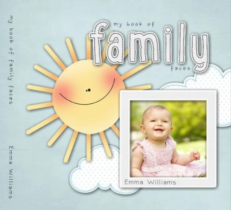 There are wonderful ways to help toddlers and young children connect with family members far away like family faces photo books & games. Help them to see their loved ones frequently by looking at their photos in a picture book everyday.