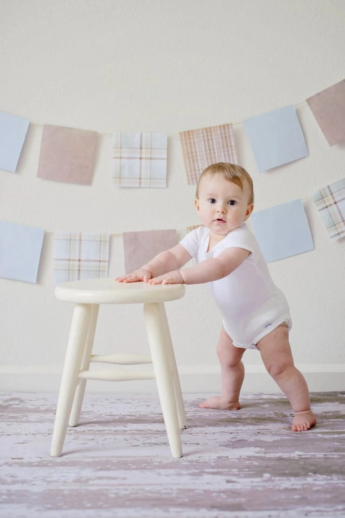 Looking for tips and activities on how to teach baby to walk? Here are several ways to help your infant or toddler get on the move quickly by strengthening their legs and trunk muscles for improved gross motor skill milestones.