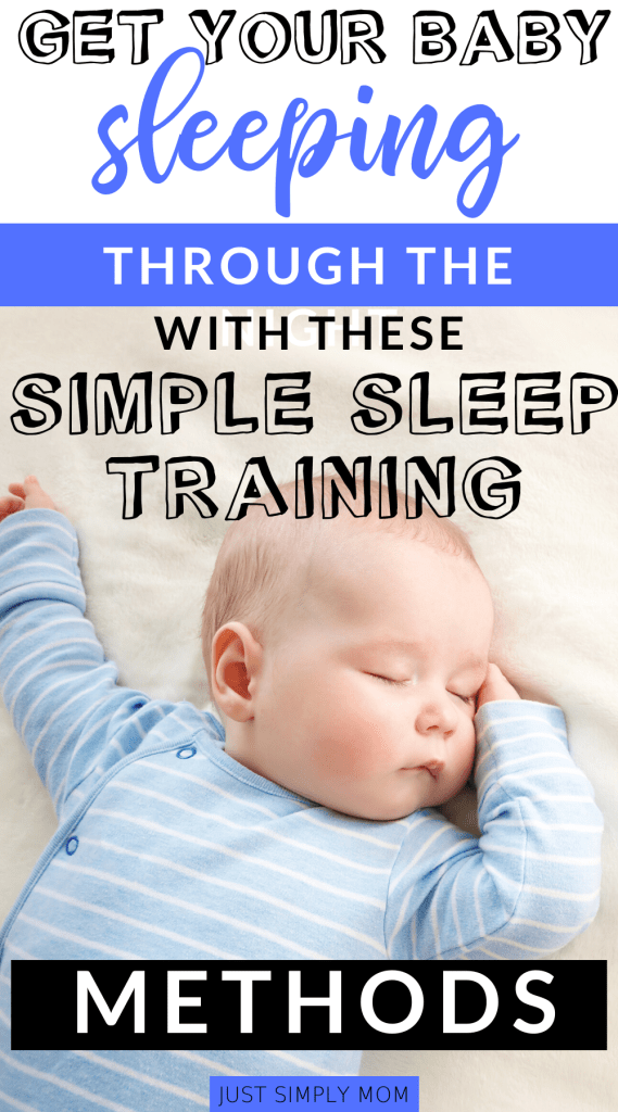 Is your baby waking up every hour and regressing hard in the middle of the night? Sleep training is the best thing you can do for you and your baby. Get your infant sleeping through the night anywhere from 4, 5, or 6 months old by following these tips for a sleep training method.
