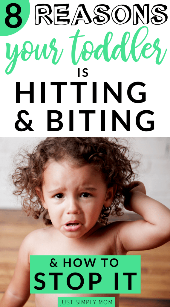 Learn positive behavior strategies to stop your toddler or child from challenging behaviors like hitting, biting, hair pulling, pushing, and kicking. Focus on positive behaviors instead of the negative ones so they can learn ways to manage and control their feelings and emotions in an appropriate way.