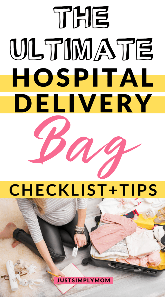 A guide to the essentials and optional items that you will need to pack in your hospital delivery bag for childbirth and the days beyond.
