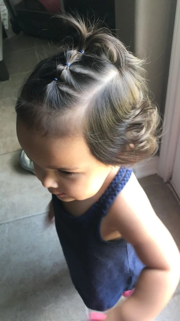 Easy & cute toddler girl hairstyles for medium to long hair. Braids & twists to half up ponies, there's something unique for all little girls