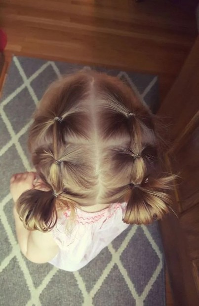 17 Simple and Adorable Toddler Girl Hairstyles for Medium to Long Hair - Just Simply Mom