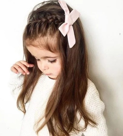 22 Easy And Adorable Toddler Girl Hairstyles For Medium To Long Hair Just Simply Mom