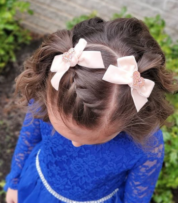 17 simple and adorable toddler girl hairstyles for medium