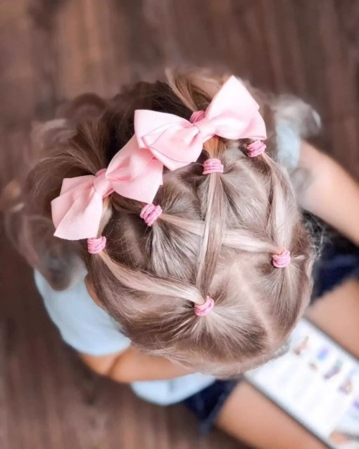 quick little girl hairstyles