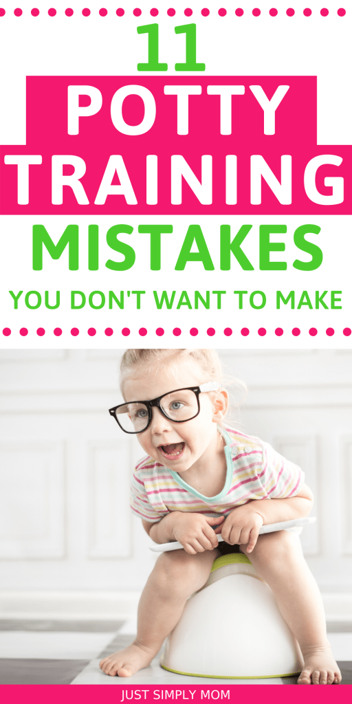 Don't make these mistakes when potty training your toddler. Be sure they are ready and willing to get started with this big milestone at any age.